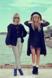 modnie ubrane kobiety w okularach przeciwsłonecznych